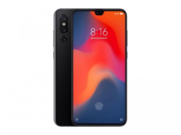 Появился рендер Xiaomi Mi 9 с вероятными характеристиками